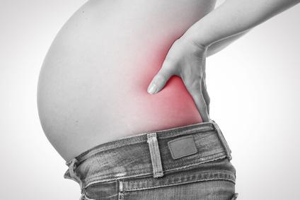 妊婦さんの腰痛予防にトコちゃんベルト